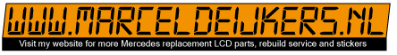 .Mercedes 190 Laptimer stoppuhr stopwatch 16v